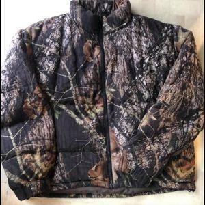 Browning puffer coat